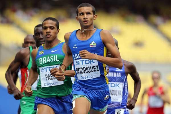 Colombian 800m runner Rafith Rodriguez (Getty Images)