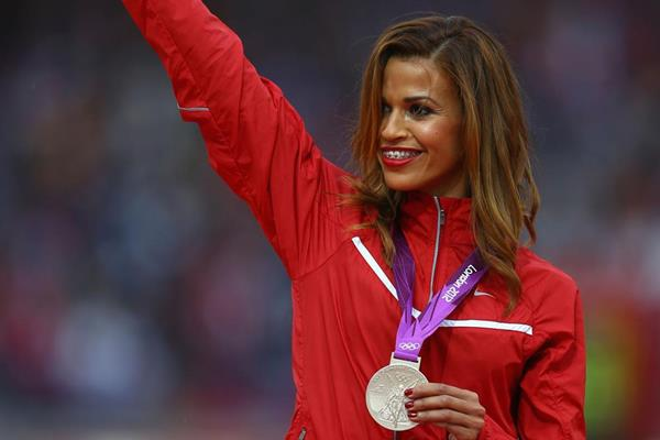 Steeplechaser Habiba Ghribi becomes the first Tunisian woman to win an Olympic medal (Getty Images)