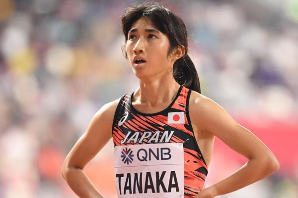 Japanese distance runner Nozomi Tanaka (AFP / Getty Images)