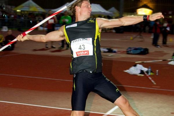Andreas Thorkildsen winning in Luzern (Organisers)
