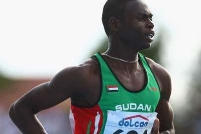 Abubaker Kaki of Sudan in action (Getty Images)