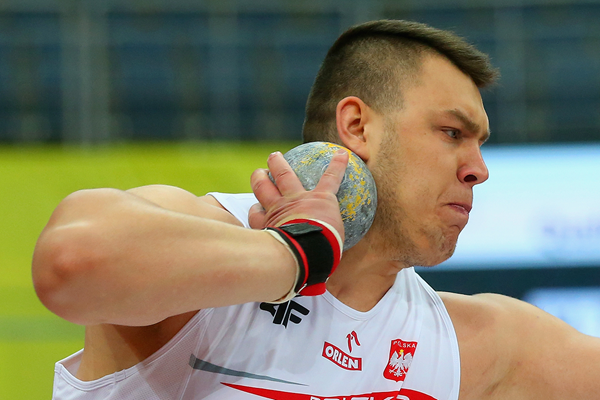 Polish shot putter Konrad Bukowiecki (Getty Images)