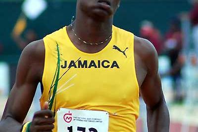 Dexter Lee (JAM) - U17 100m winner Carifta 2007 (Anthony Foster)