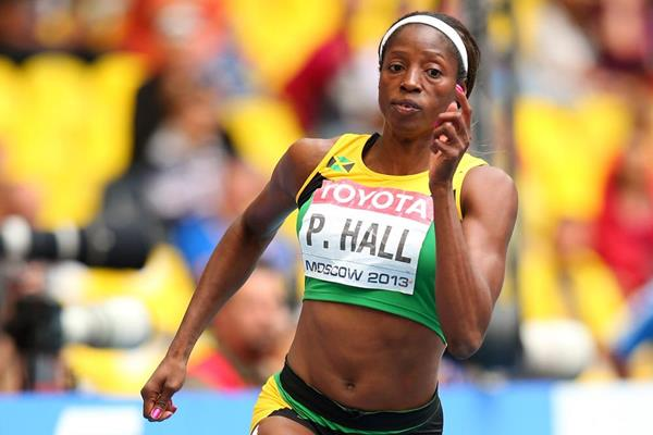 Jamaican sprinter Patricia Hall (Getty Images)