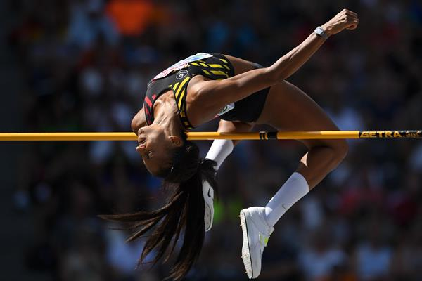 Nafi Thiam at the European Championships in Berlin (Getty Images)