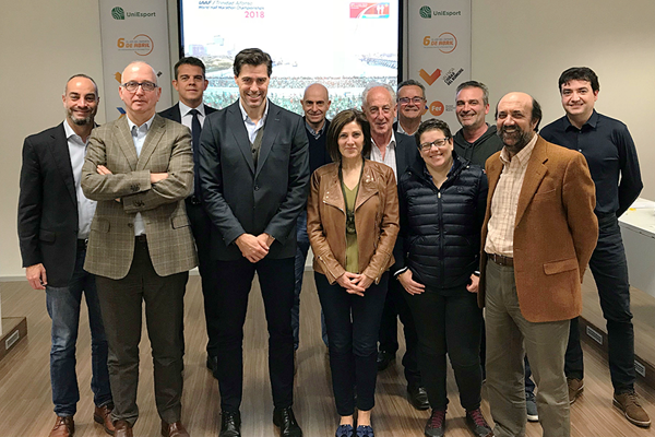 The local organising committee for the IAAF/Trinidad Alfonso World Half Marathon Championships Valencia 2018 (LOC)