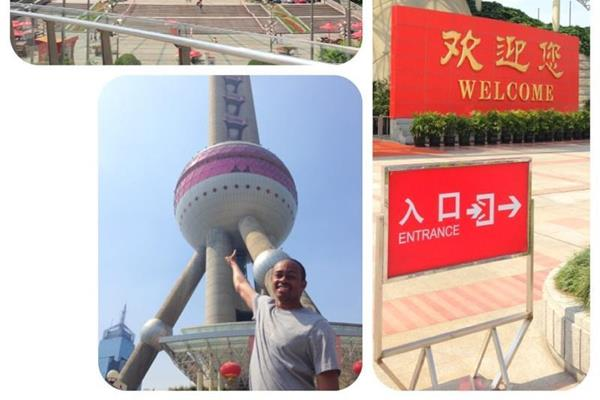 Aries Merritt's postcard from Shanghai - 2013 IAAF Diamond League (Aries Merritt)