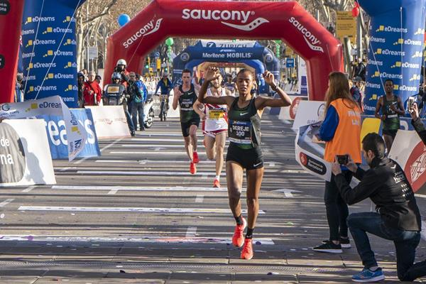 Roza Dereje triumphs at Barcelona half marathon (Organisers)