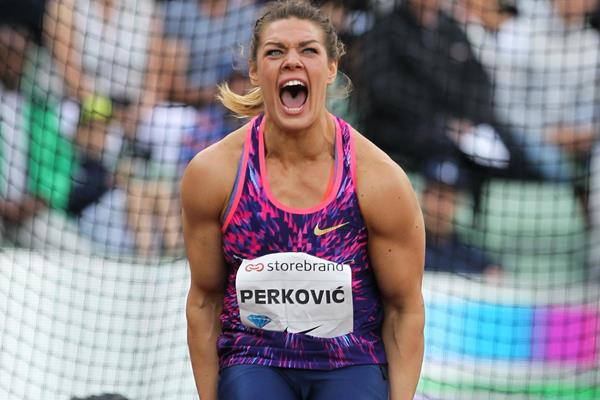 Another victory for Sandra Perkovic, this time in Oslo (Jean Pierre Durand)