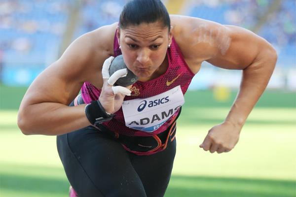 Another victory for Valerie Adams, this time at the IAAF Diamond League meeting in Rome (Gladys Chai von der Laage)