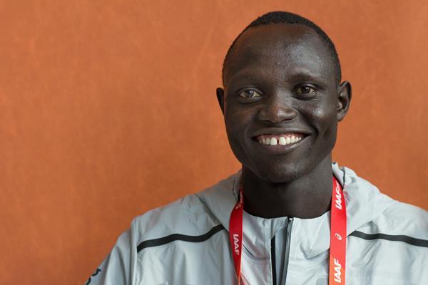 Athlete Refugee Team member Paulo Amotun Lokoro in Valencia (Bob Ramsak)