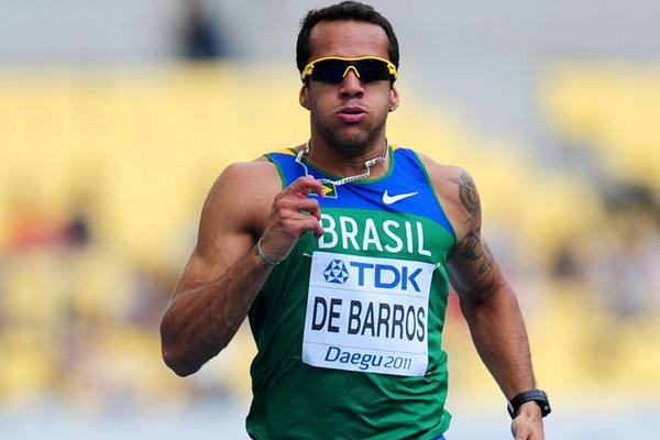 Brazilian sprinter Bruno de Barros (Getty images)