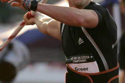 91.29 U.S. record for Breaux Greer in Indianapolis (Getty Images)