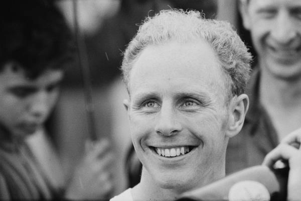 Britain's Basil Heatley after setting a world best in the marathon (Hulton / Getty Images)