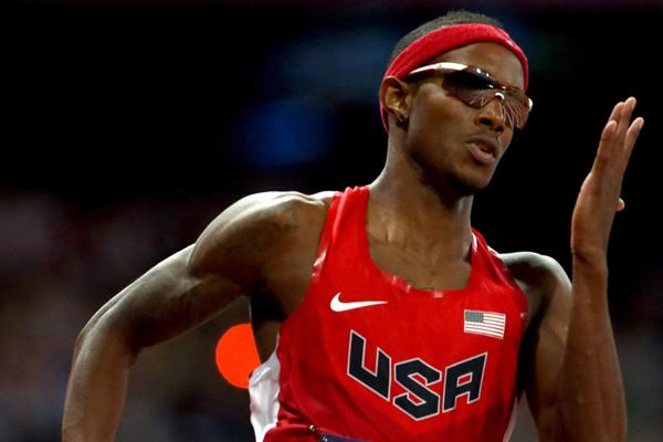 American 400m sprinter Tony McQuay (Getty images)