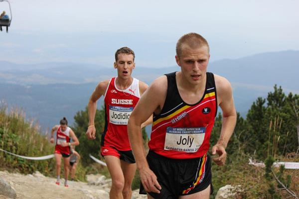 Athletes in action at the 2016 World Mountain Running Championships (Gerry Brady)