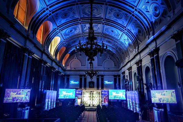 General view of room: IAAF Heritage launch - Memorabila Donation Ceremony, Birmingham Council House, UK, 4 March 2018 (Bright Vision Events)