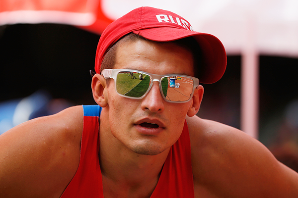 Russian decathlete Ilya Shkurenev (Getty Images)