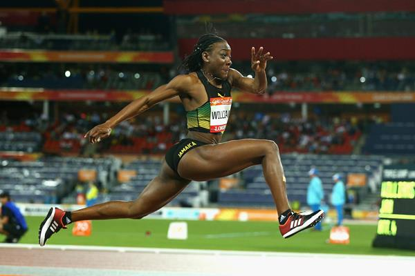 Kimberly Williams sails to Commonwealth triple jump gold (Getty Images)