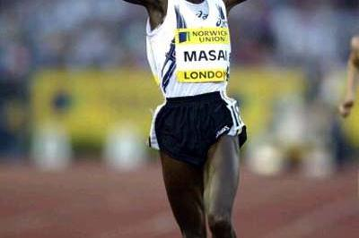 Edith Masai wins the women's 5000m at Crystal Palace, London (Getty Images)