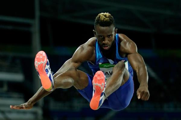 Jarrion Lawson in the long jump at the Rio 2016 Olympic Games (Getty Images)