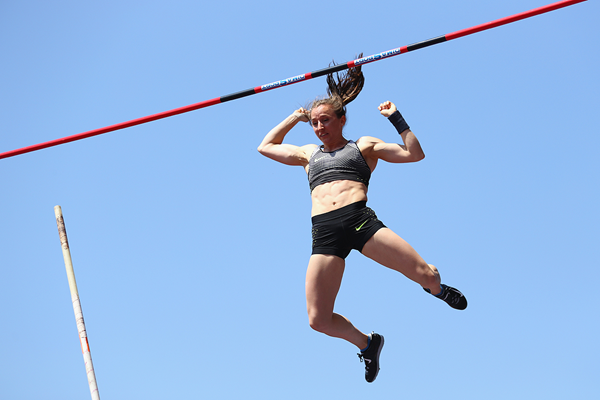 Swiss pole vaulter Nicole Buchler (Getty Images)