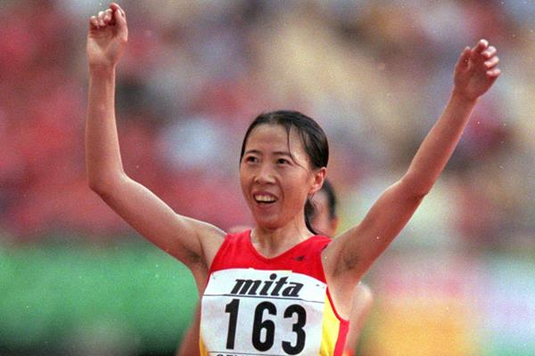 Chinese race walker Liu Hongyu (Getty Images)