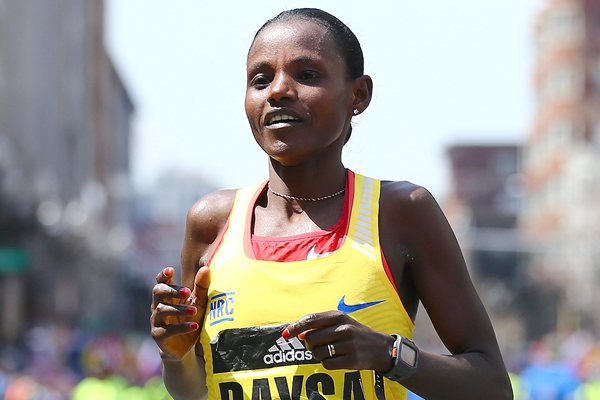 2016 Boston Marathon winner Atsede Baysa (Getty Images)