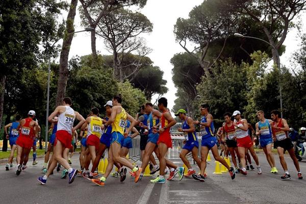 The 50km at the IAAF World Race Walking Team Championships Rome 2016 (Getty Images)