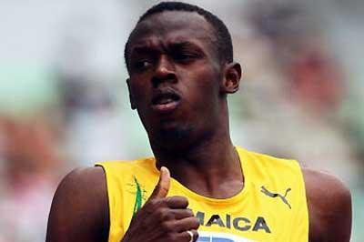 Usain Bolt (JAM) - 200m heats (Getty Images)