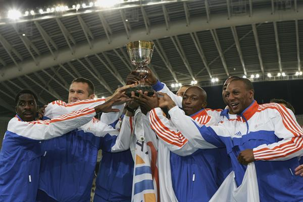 The victorious European team at the 2006 IAAF World Cup (Getty Images)