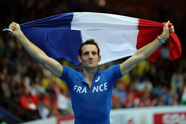 Renaud Lavillenie at the 2013 European Athletics Indoor Championships (Getty Images)