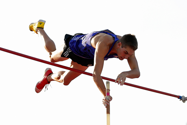 Cedric Dubler in the decathlon pole vault at the Australian Combined Event Championships (Getty Images)