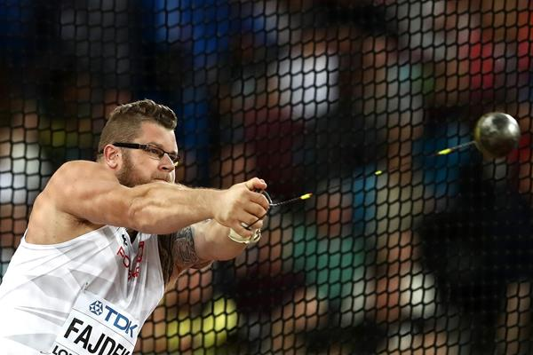 Pawel Fajdek in the hammer at the IAAF World Championships (Getty Images)