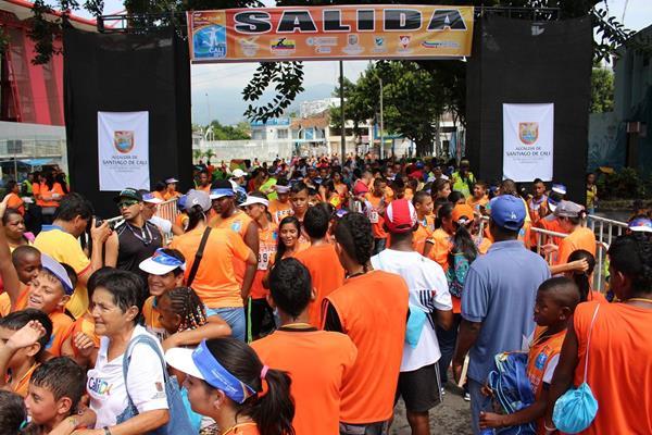 IAAF World Athletics Day in Cali (the IAAF World Youth Championships, Cali 2015 )