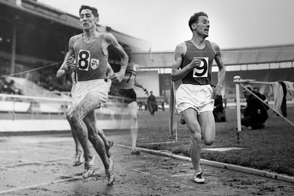 Ron Delany and Laszlo Tabori (Hulton / Associated Press)