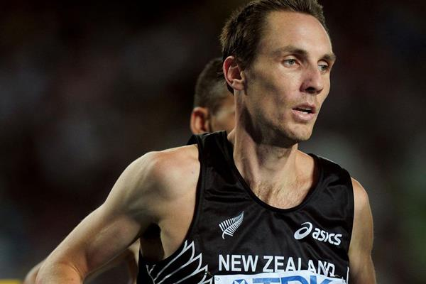 New Zealand's Nick Willis in action in the 1500m at the 2011 IAAF World Championships in Daegu (Getty Images)