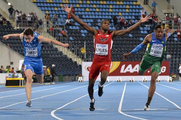 Image result for noah lyles usa 2016
