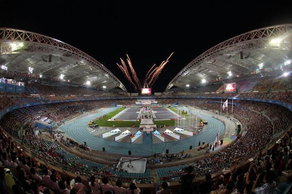 Opening ceremony, World Championships in Daegu 2011 (Getty Images)