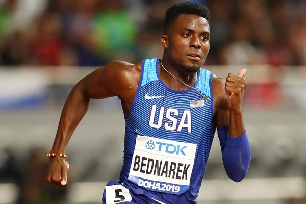 US sprinter Kenny Bednarek (Getty Images)