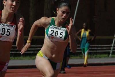 Franciela Krasucki of Brazil victorious in Rosario (Eduardo Biscayart)
