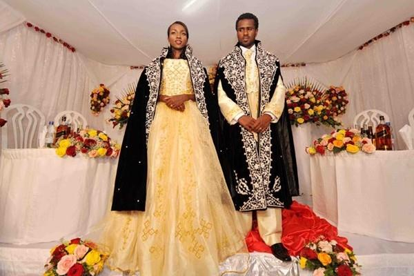 Meseret defar wedding dress