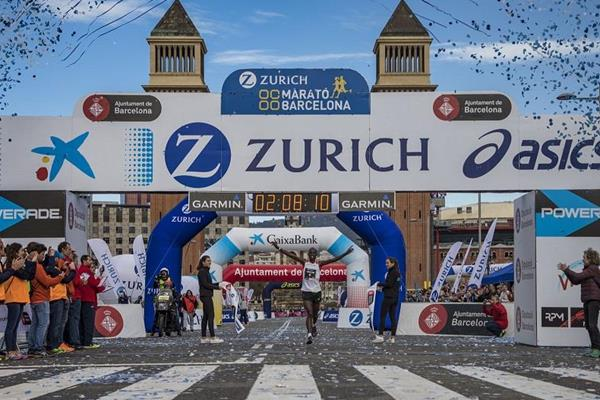 Anthony Maritim wins the 2018 Barcelona Marathon (organisers)