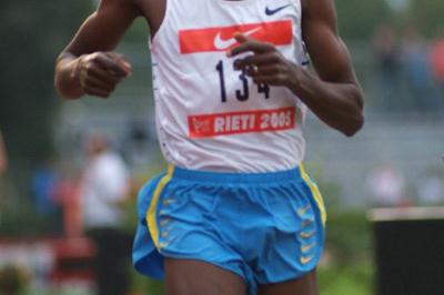 Bernard Lagat of the US in the Rieti Grand Prix (Lorenzo Sampaolo)