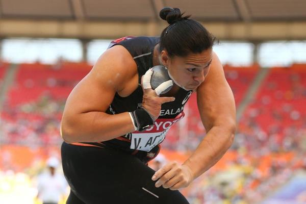 Valerie Adams in the womens Shot Put at the IAAF World Athletics Championships Moscow 2013 (Getty Images)