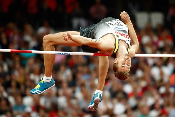 Mateusz Przybylko in the high jump at the IAAF World Championships London 2017 (Getty Images)