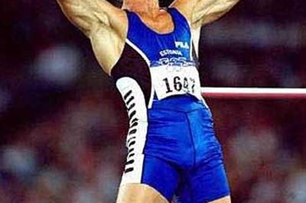 Erki Nool (EST) - Sydney Olympic Decathlon champion (Getty Images)