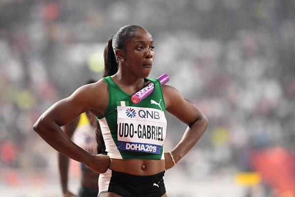 Nigerian sprinter Joy Udo Gabriel (Getty Images)