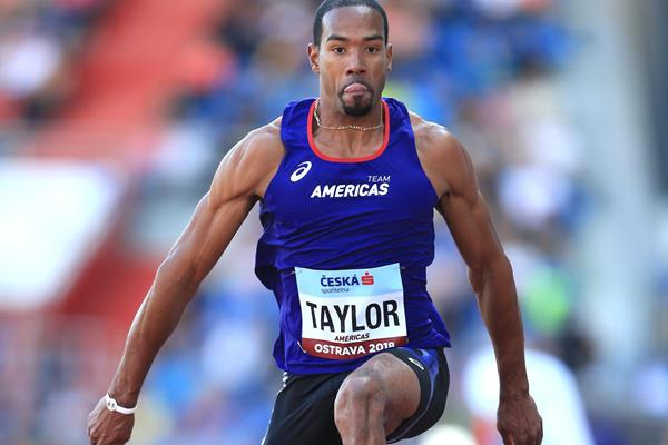 Christian Taylor sails to the Continental Cup title in Ostrava (Getty Images)