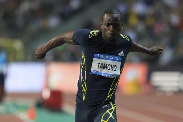Teddy Tamgho at the 2013 IAAF Diamond League final in Brussels (Jean-Pierre Durand / IAAF)